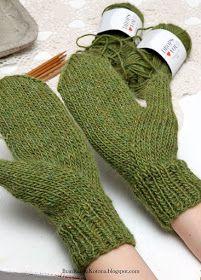 Ihan Kaikki Kotona: Peukku intialaisittain Knitting Charts, Knitting Stitches, Knitting Yarn, Knitting Patterns, Mittens Pattern, Knit Mittens, Knitted Gloves, Knitted Bunnies, Dress Sewing Patterns