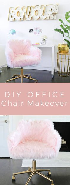 Project Restyle: Office chair makeover