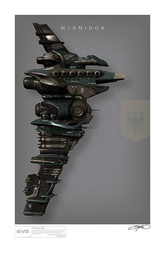 A collection of Art Print Style posters inspired by the spaceships of Eve Online Spaceship Art, Spaceship Design, Concept Ships, Concept Art, Eve Online Ships, Space Car, Sci Fi Spaceships, Online Posters, Found Object Art