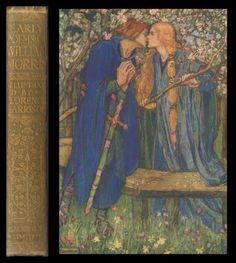 Florence Harrison WILLIAM MORRIS Poems 16 PLATES Poetry Art Nouveau KING ARTHUR