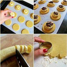 Queques de chocolate e banana2