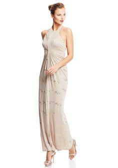 ideeli   A.B.S. BY ALLEN SCHWARTZ Sleeveless Gown with Allover Sparkle
