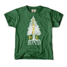 Redwood Forest Boys T-Shirt