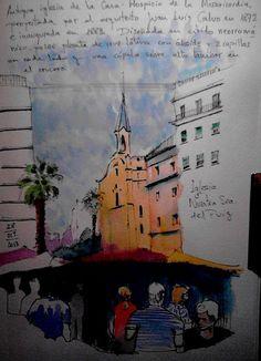 Mercadillo en Barrio del Carmen, Valencia by Josep Castellanos, via Flickr