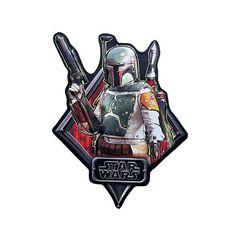 Star Wars Boba Fett Tin Sign⎜ Open Road Brands