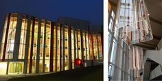 A brand new facility for the performing arts has opened in the Swedish city of Jönköping. Centre stage at the entrance to this striking architectural building is a spectacular light installation featuring Perspex® Clear cast acrylic.