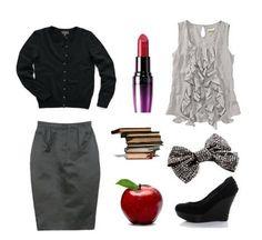 cutest teacher outfit