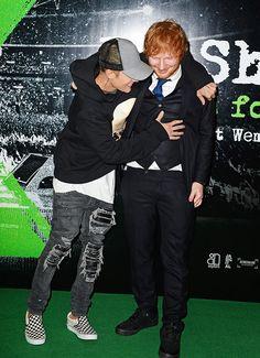 Ed Sheeran Planning To Diss Justin Bieber At The MTVEMAs