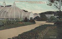 The greenhouse at Lyndhurst.
