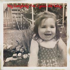 Neve Clementine Wenzel second Birthday!