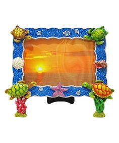 Another great find on #zulily! Sea Turtle Photo Frame by Chesapeake Bay #zulilyfinds