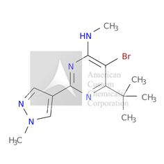 5-BROMO-6-TERT-BUTYL-N-METHYL-2-(1-METHYL-1H-PYRAZOL-4-YL)PYRIMIDIN-4-AMINE is now  available at ACC Corporation