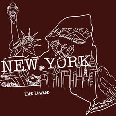 NEW YORK / Embroidery Pattern / Digital PDF Pattern by sassyspurz