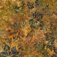 Batik Leaves-K-12236-191 Autumn
