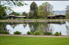 Harvey Park Lake, southwest Denver, Colorado.
