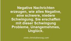 negative Nachrichten erzeugen Negatves