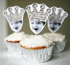 Made my son's pic on toppers for part of the cupcakes at his graduation.  Friends loved it!