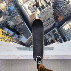 The world is a skate park. Ride it! Skate on. Photomontage, Photo Truquée, Snowboard, Digital Foto, Skate And Destroy, Images Esthétiques, Surreal Photos, Skate Surf, Vans Skate