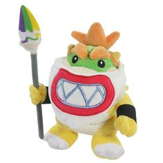 """Find More Movies & TV Information about New 1 PCS Super Mario Bowser Koopa JR Soft Stuffed Plush Doll Brush Pencil With Tag Baby Kid Toys Gift Approx 18cm/7"""" Free Track,High Quality schoolbag,China backpacking co Suppliers, Cheap backpack charm from Toys in the Kingdom on Aliexpress.com"""