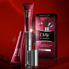 Beauty Review: Olay Regenerist Micro-Sculpting Eye Cream & Lash Serum Duo