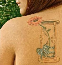 Peace, love, and karma charms tattoo