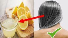 Природное лечение седых волос с использованием смеси из кокосового масла и лимонного сока
