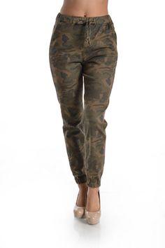 Hott Camo Print Twill Jogger Pants! Plus Size! #UASpringSummerCollection2015 #Jogger