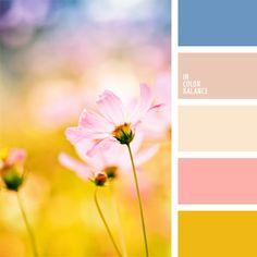 amarillo limón, color azul aciano, color blanco antiguo, color celeste, color mostaza, color salmón, color verde limón, colores para la decoración, colores pastel, paletas de colores para decoración, paletas para un diseñador, rosado pálido, selección de colores, tonos pastel.