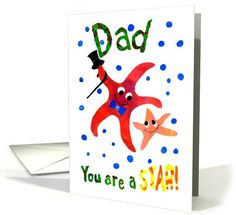 A Starfish Birthday Card for a Father: up to $3.50 - http://www.greetingcarduniverse.com/dad-father-birthday-cards/general/a-starfish-birthday-card-for-615469?gcu=43752923941
