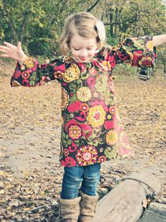 Little girls peasant dress Available in sizes by sleepyowlboutique, $30.00