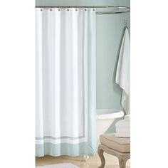 Wamsutta® 72-Inch x 96-Inch Hotel Shower Curtain in Aqua