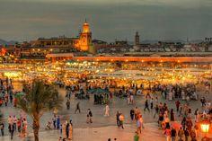 TripBucket - Shop at Djeema El-Fna Souk (Jemaa el-Fnaa), Marrakesh, Morocco (UNESCO site)