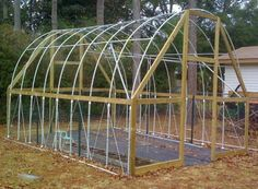 Grow Organic Tomatoes First harvest – sumptuous organic tomatoes growing in my first homemade greenhouse. Every story has a beginning, and for me this wood framed PVC hoop house was my first step into the worlds o… Tunnel Greenhouse, Homemade Greenhouse, Build A Greenhouse, Greenhouse Gardening, Hydroponic Gardening, Organic Gardening, Greenhouse Ideas, Hydroponic Lettuce, Hydroponic Growing