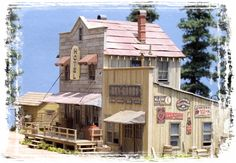 Logging Camp ....Main Street