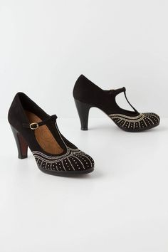 ad9c1a9a6538 Tindra T-Straps - Anthropologie.com T Strap Heels