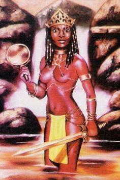 Òpárá, também conhecida como Osún Òpárá (Oxum Opará) é a Divindade dos rios e cachoeiras, muito confundida como uma qualidade da Orixá Oxum, mas para o povo Yorubá se trata de uma Divindade própria…