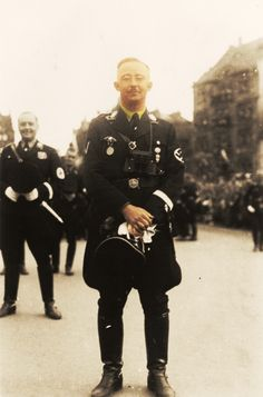 Himmler in color by FVSJ