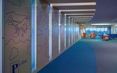 interior design, environmental graphics, pediatric, healthcare, children's, hospital