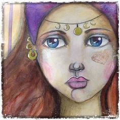 Summer Gypsy from Tamara LaPorte class