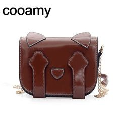 Find More Shoulder Bags Information about Fashion Women Messenger Bag New Brand Leather Female Singel Shoulder Bag Cute cat ear Woman Handbags Chain Casual Bags ,High Quality brand shoulder bag,China fashion shoulder bags Suppliers, Cheap shoulder bags from cooamy Official Store on Aliexpress.com