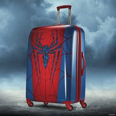 Nothing itsy or bitsy about this spider. Click to shop our Spiderman luggage and the full American Tourister Marvel luggage lineup.