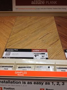 Vinyl Flooring tutorial and review