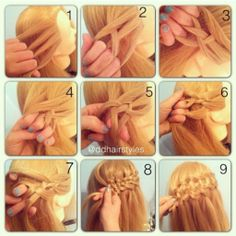 Tutorial  -girl hair styles