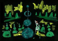 Dior 'Secret Garden Ⅳ' Film (storyboard 絵コンテ)