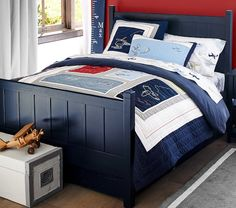 Camp Bed | Pottery Barn Kids So cute. Would love to have this for the boys!