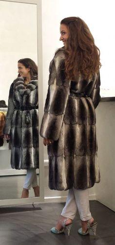 chinchilla fur coat the perfect winter garment URL: http://chinchilla.co/  FB fan page: https://www.facebook.com/chinchilla.co