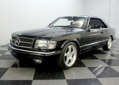 1988 Mercedes-Benz 560SEC.  Love it!  This was a hotrod from Europe!