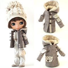 mahounote.の画像|エキサイトブログ (blog) Clothing Patterns, Sewing Patterns, Fashion Project, New Dolls, Clay Dolls, Outfits With Hats, Pretty Dolls, Little Darlings, Fabric Dolls