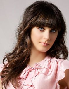Zooey looks fab with a full bang
