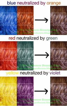 How to color your hair with the results you want. Color Your Hair, Hair Color And Cut, Hair Color Wheel, Hair Color Formulas, Aveda Color, Colored Hair Tips, Hair Color Techniques, Love Hair, Hair Dos